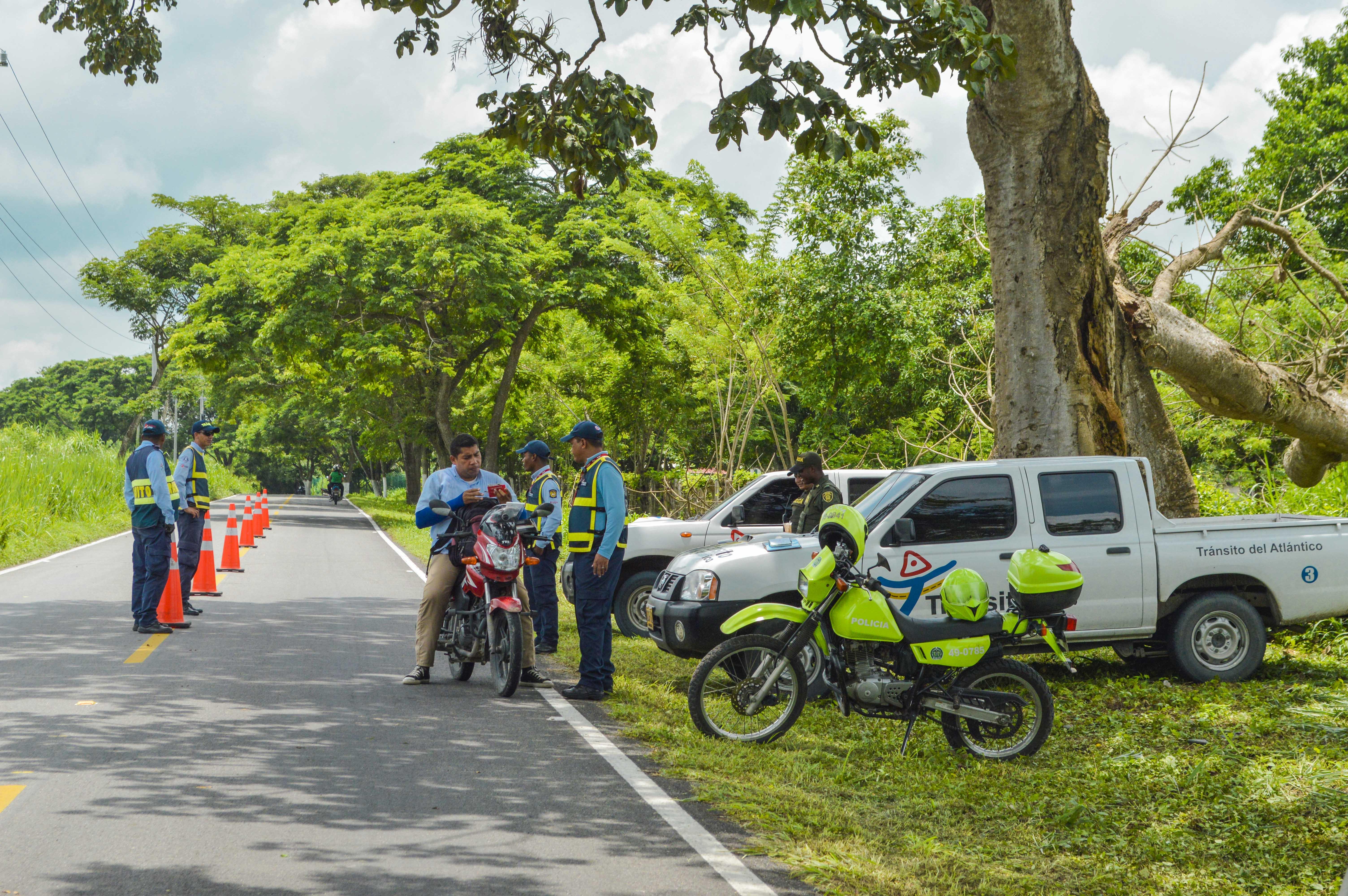 Tránsito del Atlántico lanza mañana campaña de seguridad vial de fin de año
