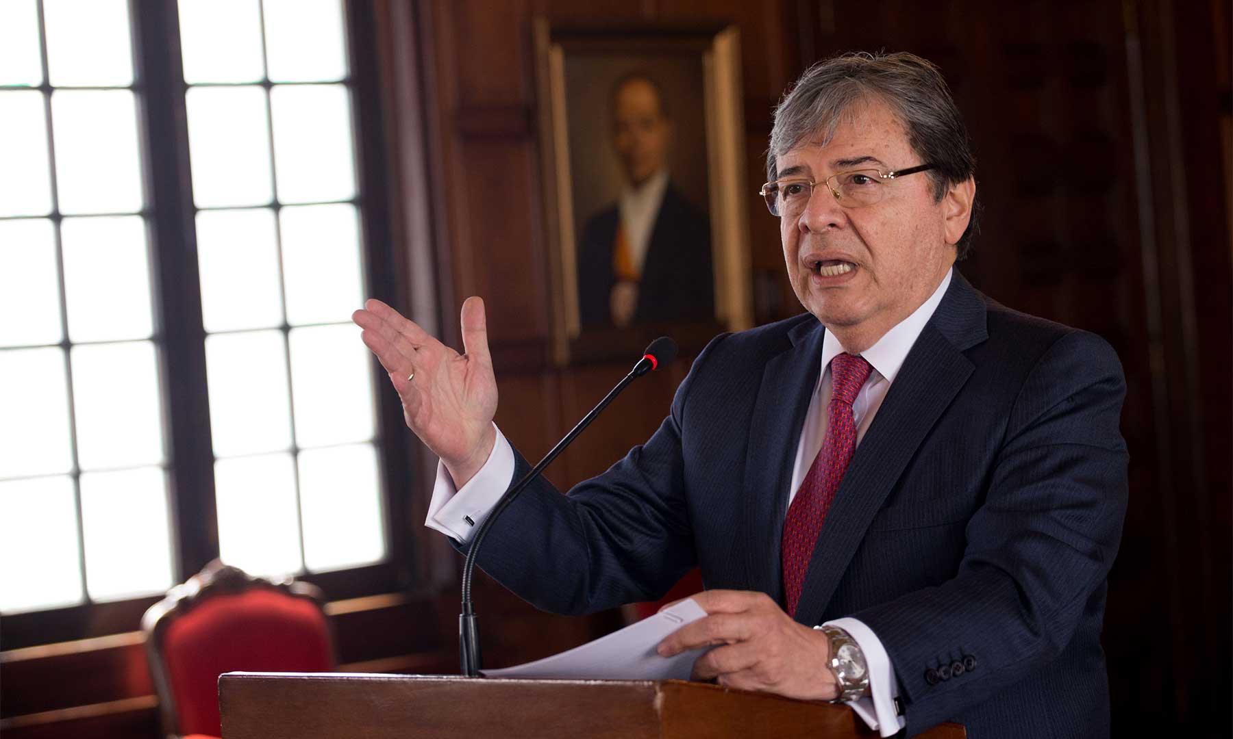 Ministro de Defensa desmintió sobre revivir el DAS o creación de nueva agenda de inteligencia
