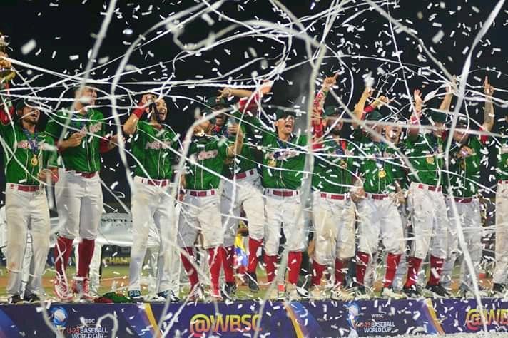 México Campeón de la Copa Mundial Sub-23 de béisbol