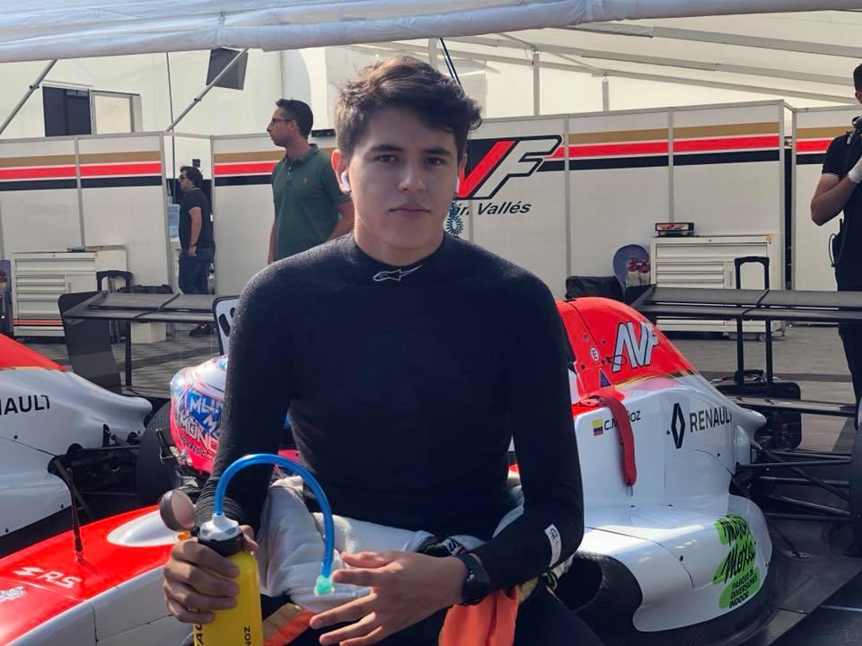 Fórmula Renault: Christian Muñoz llegó a España