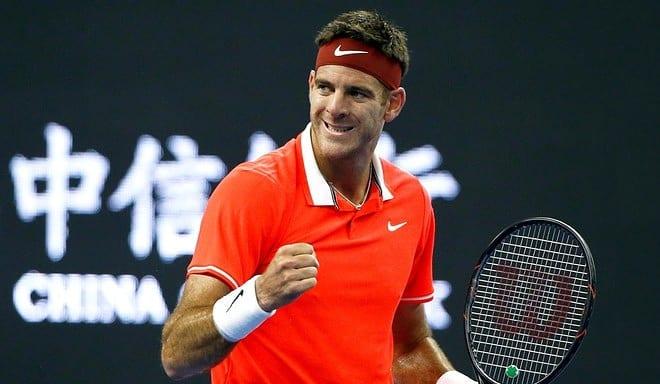 Tenis: China Open: Del Potro se impuso en cuartos de final