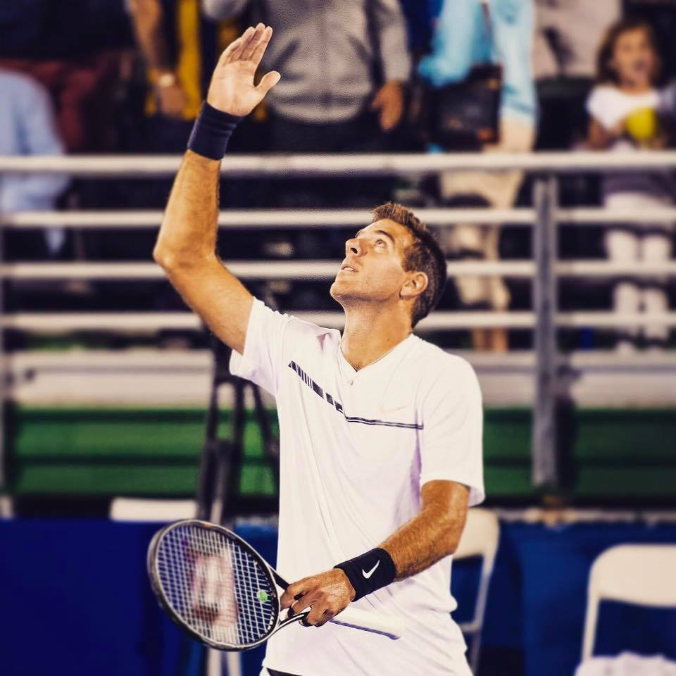 Tenis: Del Potro debutó con victoria en Beijing