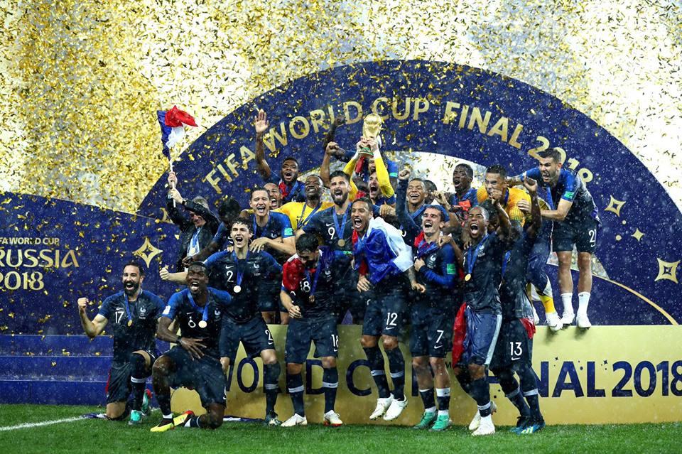 La posesión de balón que alcanzó la selección francesa en el Mundial de Rusia 2018