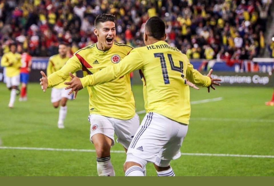 Ranking FIFA: Colombia ascendió tres posiciones