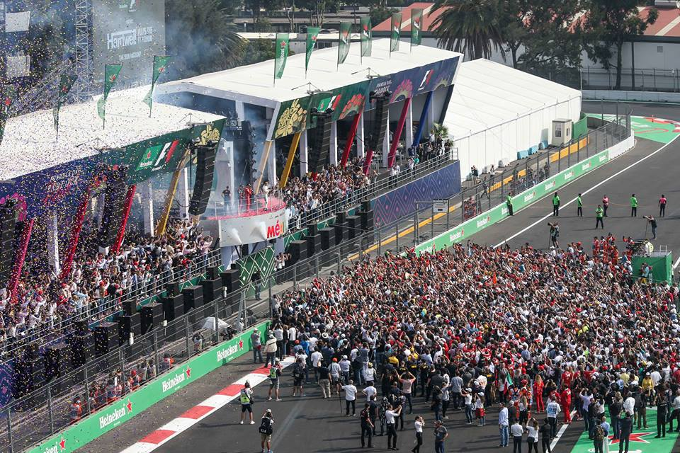 Fórmula 1: el costo de una entrada para el Gran Premio de México