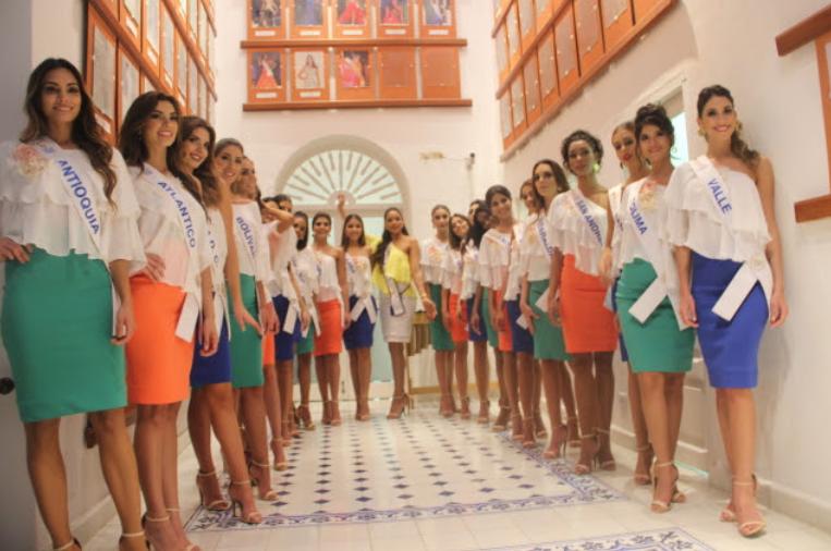 Las beldades visitaran la Casa Sede del Concurso Nacional de Belleza