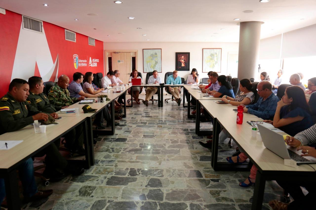 Comité de Justicia Transicional hace seguimiento a metas sectoriales