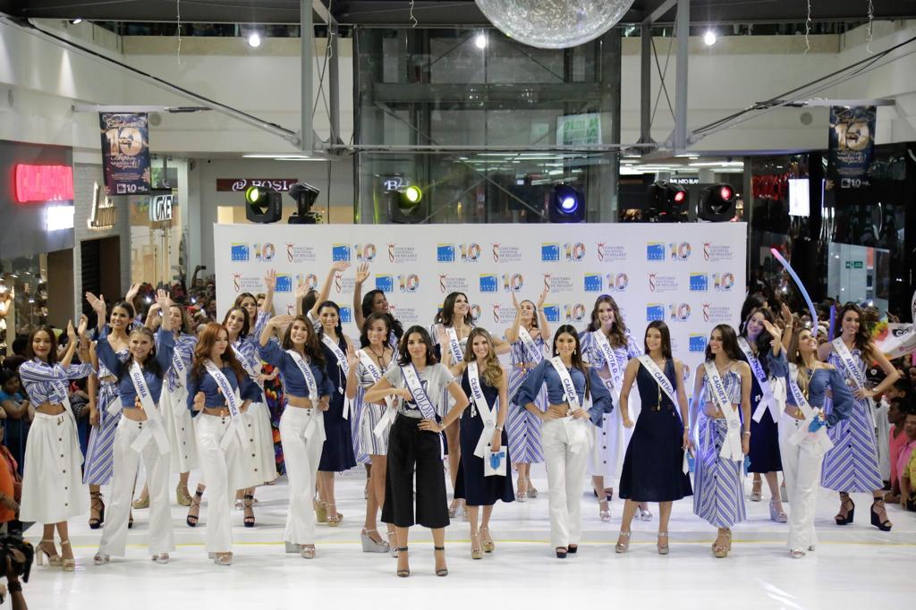 Centro Comercial Caribe Plaza recibió a las Reinas