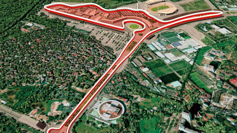 Fórmula 1: se confirmó el Gran Premio de Vietnam para abril del 2020