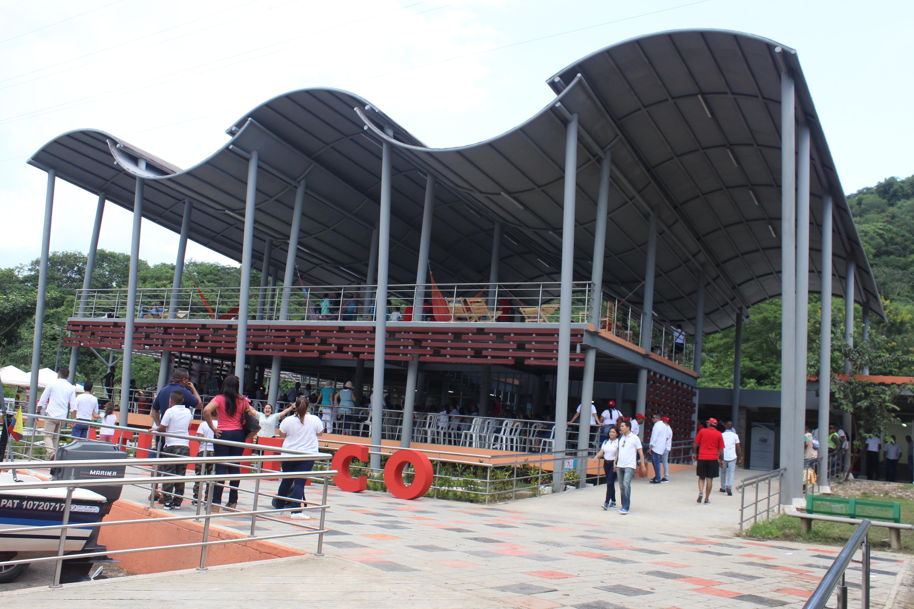 Inaugurado el nuevo Parador Turístico de Luruaco, Atlántico