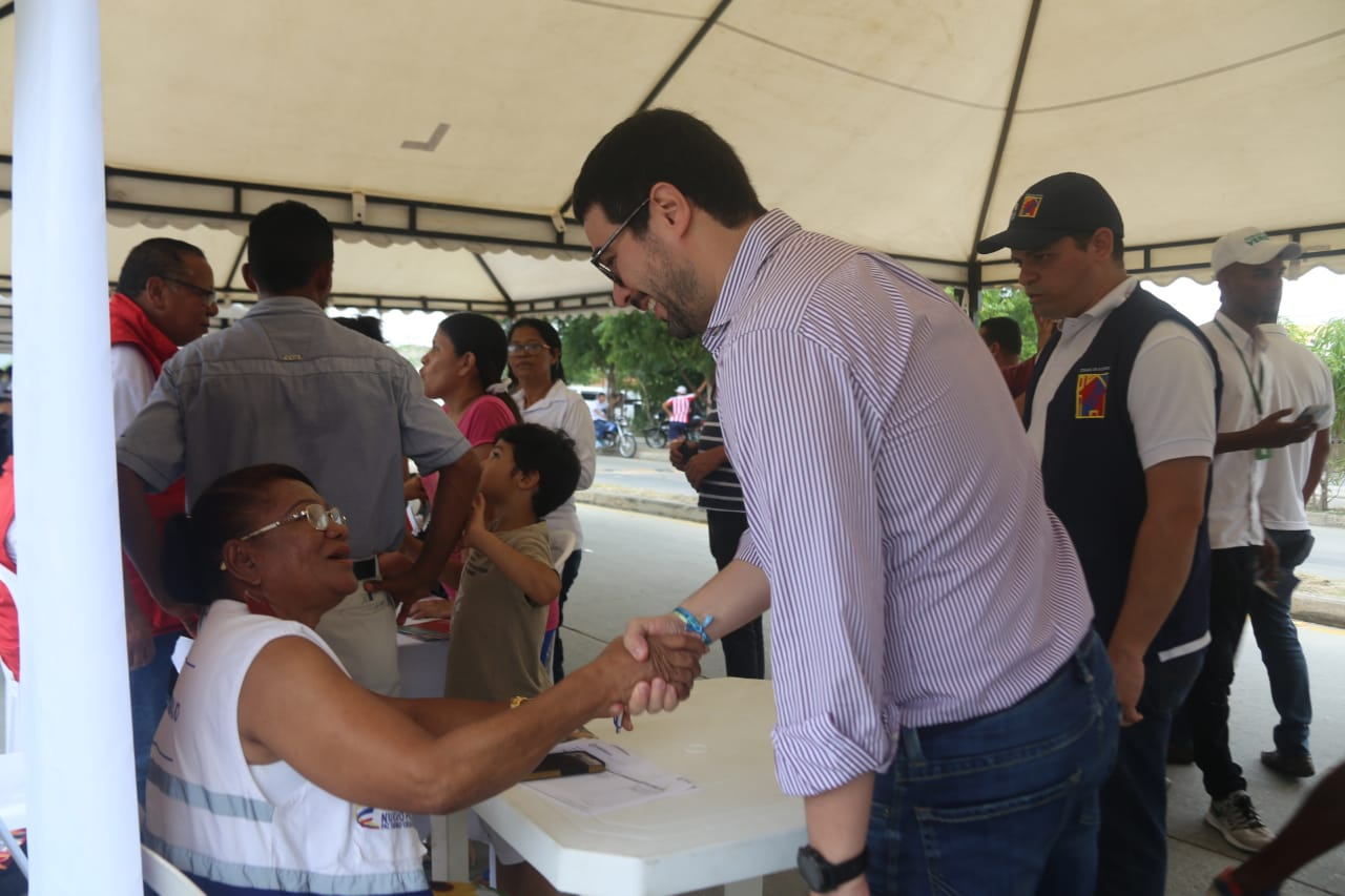 Distrito realiza 'Jornada Móvil de Justicia' en Villas de San Pablo