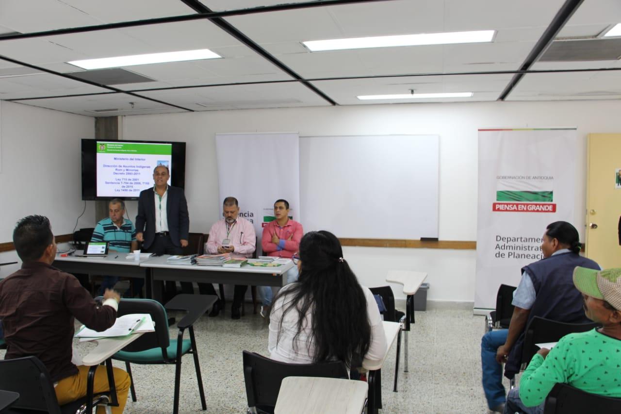 La comunicado Indígenas de Antioquia destacan el apoyo del Gobierno Departamental
