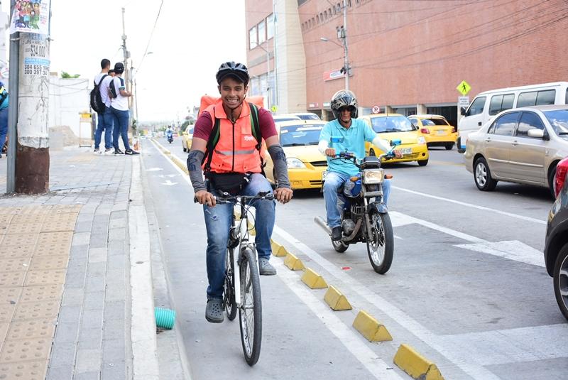 La nueva Barranquilla le abre paso a la bicicleta