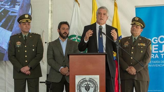 Distrito firmó contrato para construir la nueva sede del Comando de la Policía de Bogotá