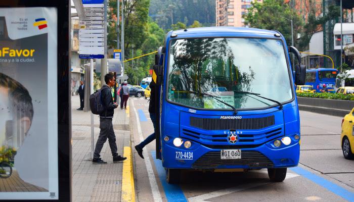 Entra en funcionamiento el carril preferencial para SITP en la Avenida Boyacá