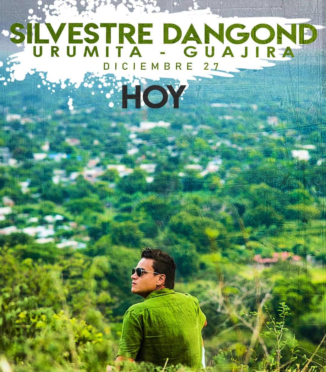 Silvestre Dangond hará concierto gratuito en su pueblo Urumita