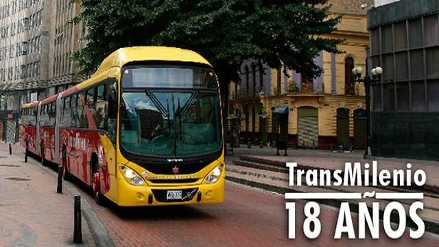 TransMilenio Cumplió 18 años