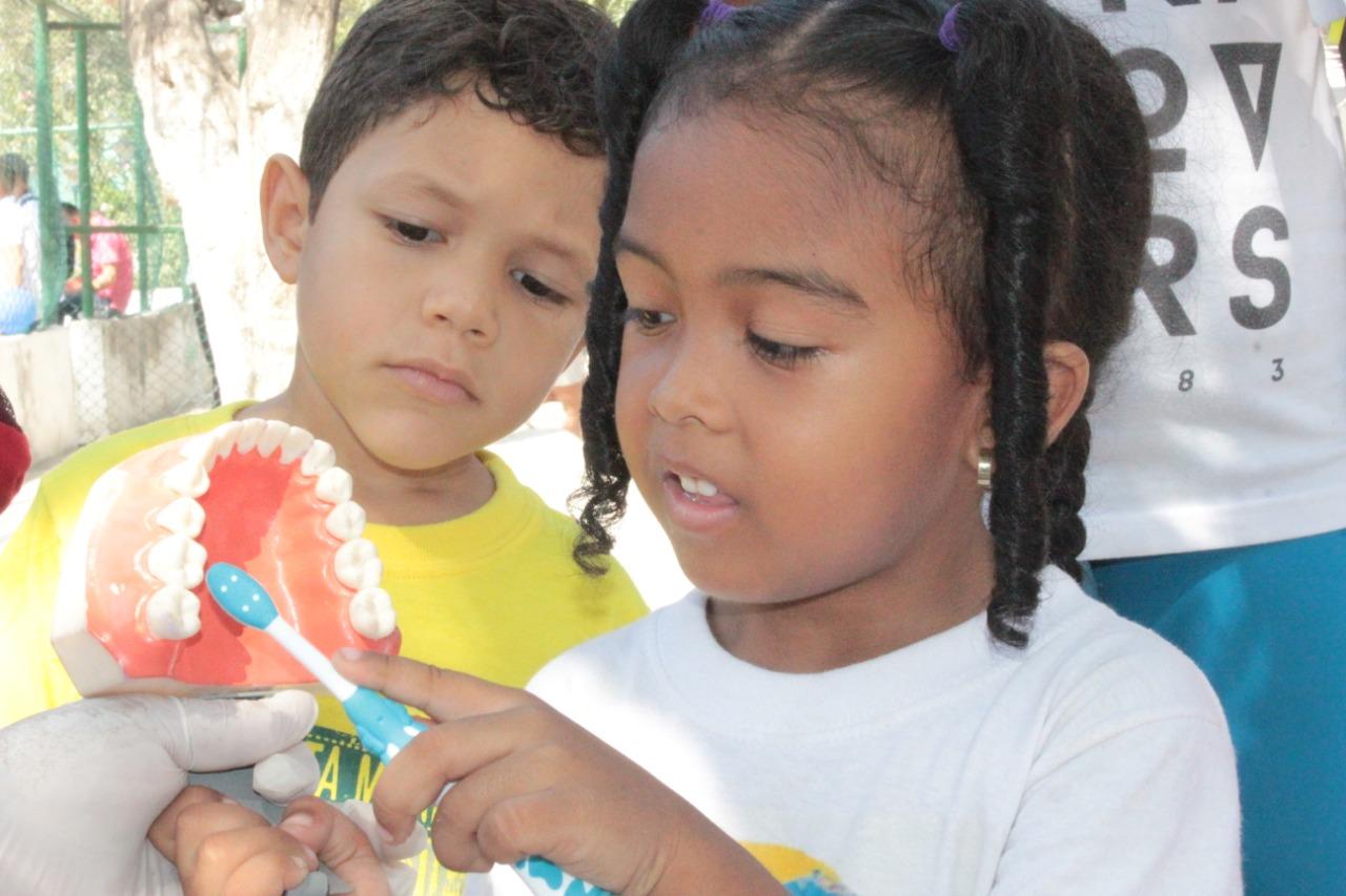 Primera Jornada de Salud Bucal en Cartagena