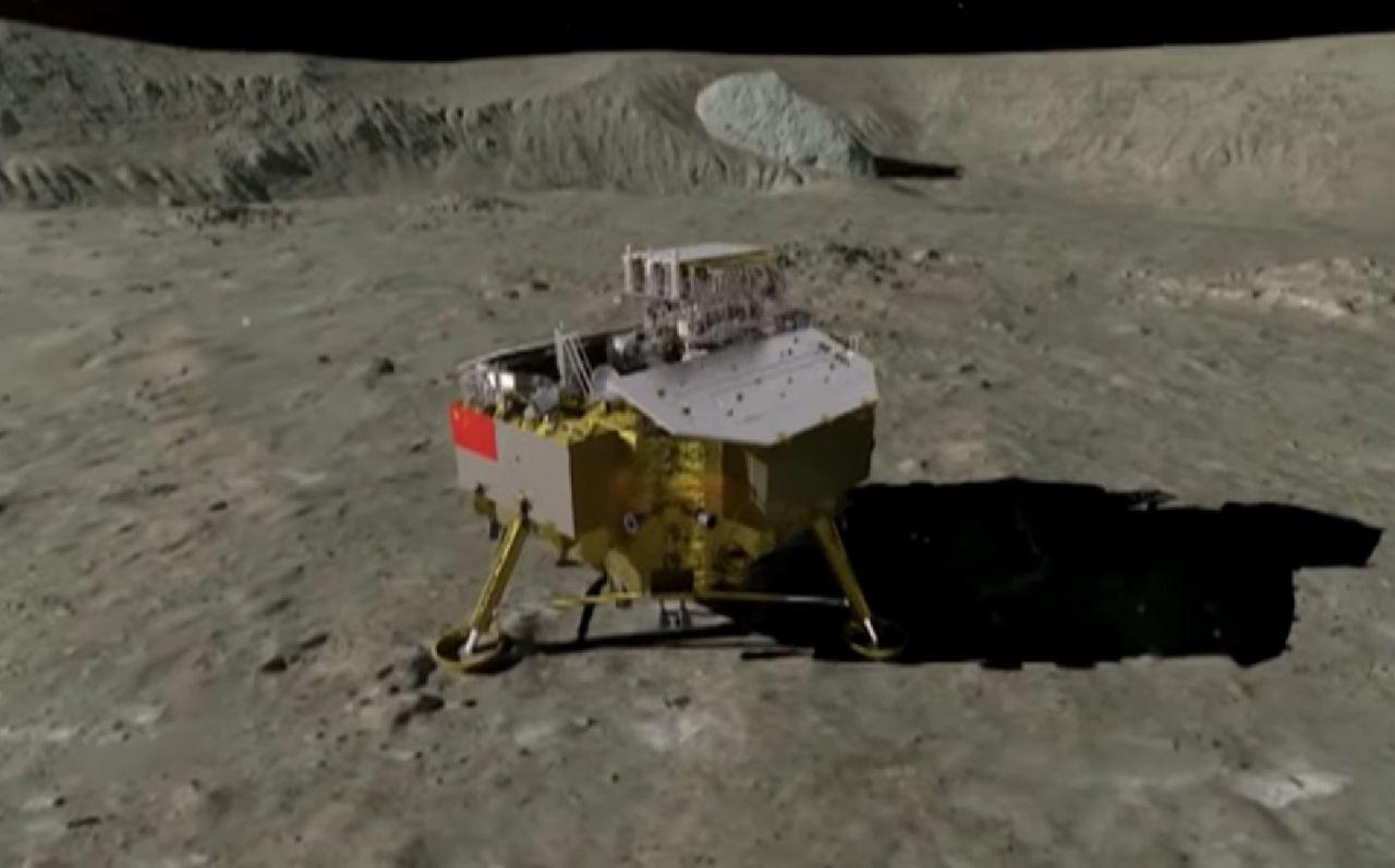 China primer país que aluniza en la cara oculta de la luna