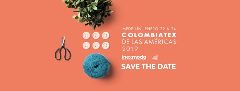 Colombiatex 2019, ya esta lista para abrir sus puertas