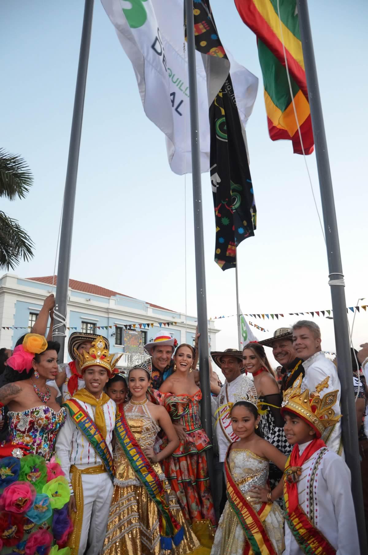 El 18 de Enero es la izada de bandera del Carnaval de Barranquilla 2019