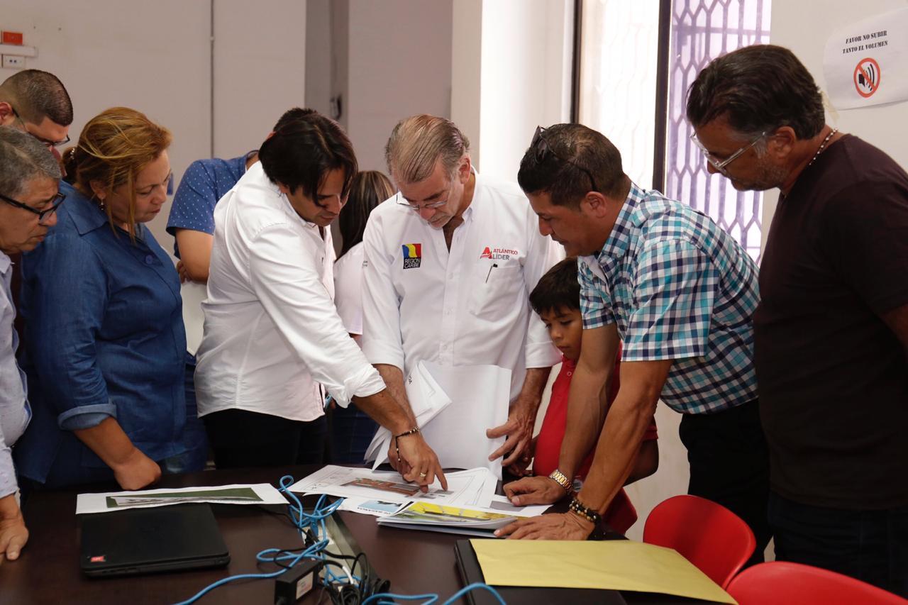 Gobernación y Alcaldía de Baranoa cofinancian tres obras por $ 7.000 millones