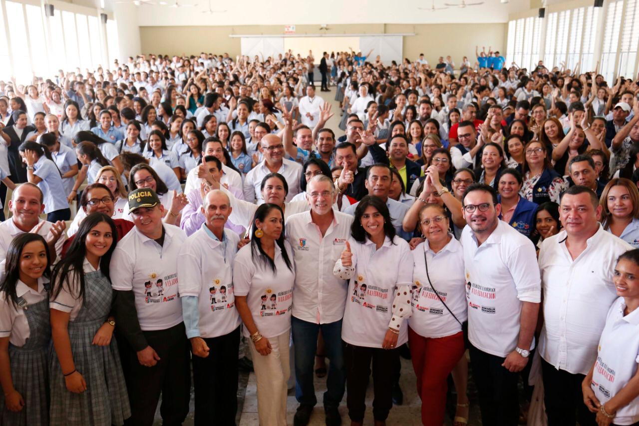 107.000 estudiantes iniciaron actividades académicas en el Atlántico