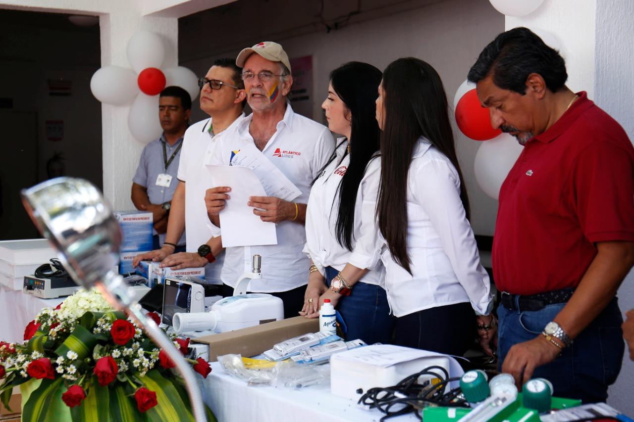 Gobernación entrega equipos biomédicos al Hospital de Palmar de Varela por valor de $ 770 millones