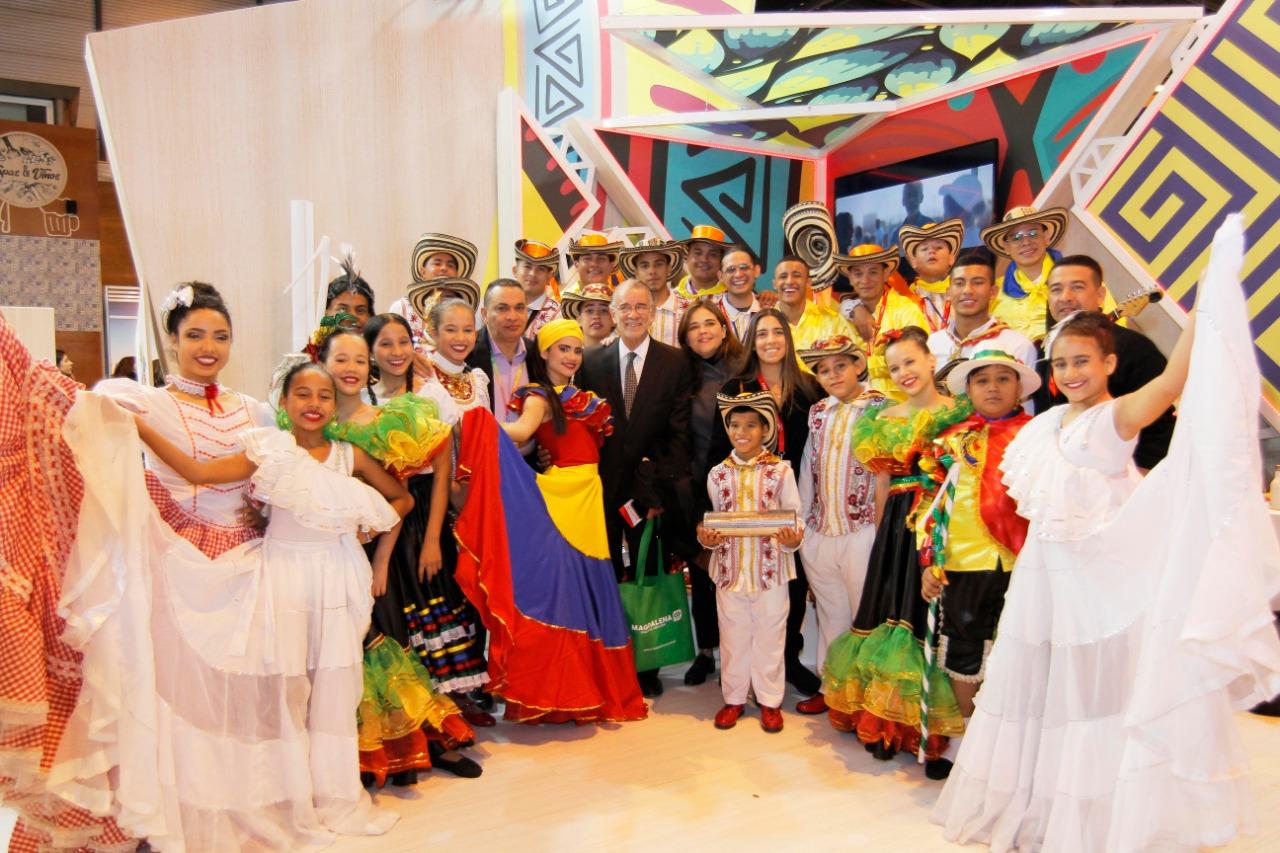 Eduardo Verano hizo su presencia en FITUR 2019