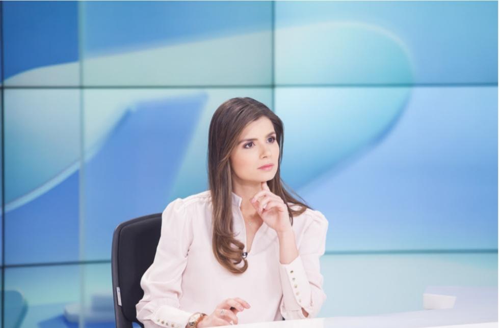 Luisa Fernanda Tobo, la nueva cara de las noticias del mediodía