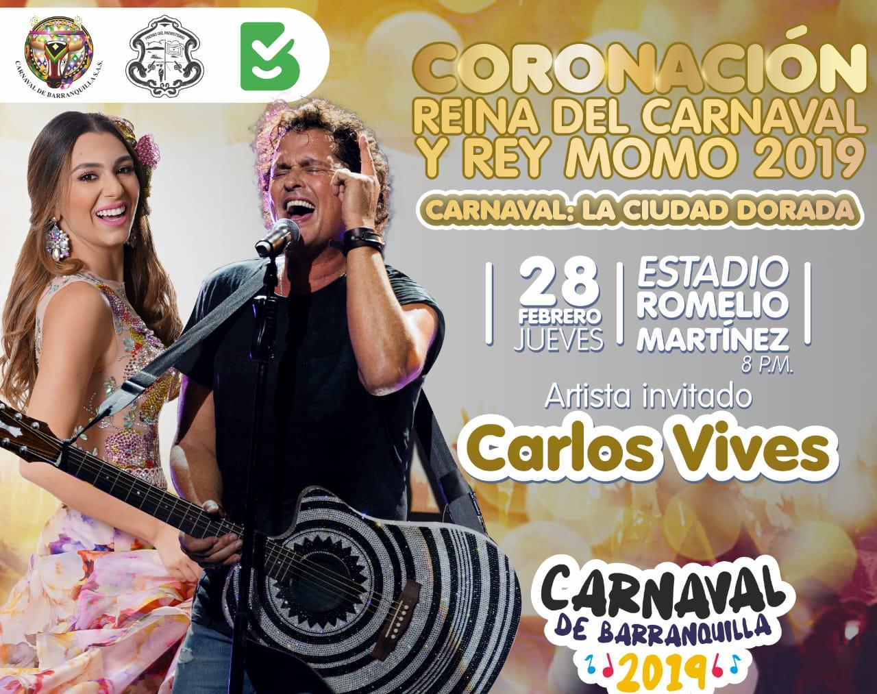El próximo 28 de febrero sera la gran coronación de los Reyes del Carnaval