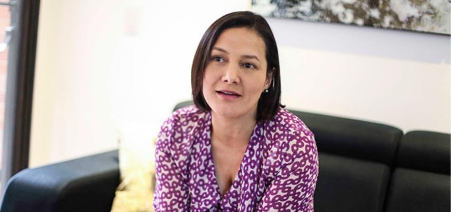 Centro Democrático presentó a Angela Garzón como su única candidata a la Alcaldía de Bogotá