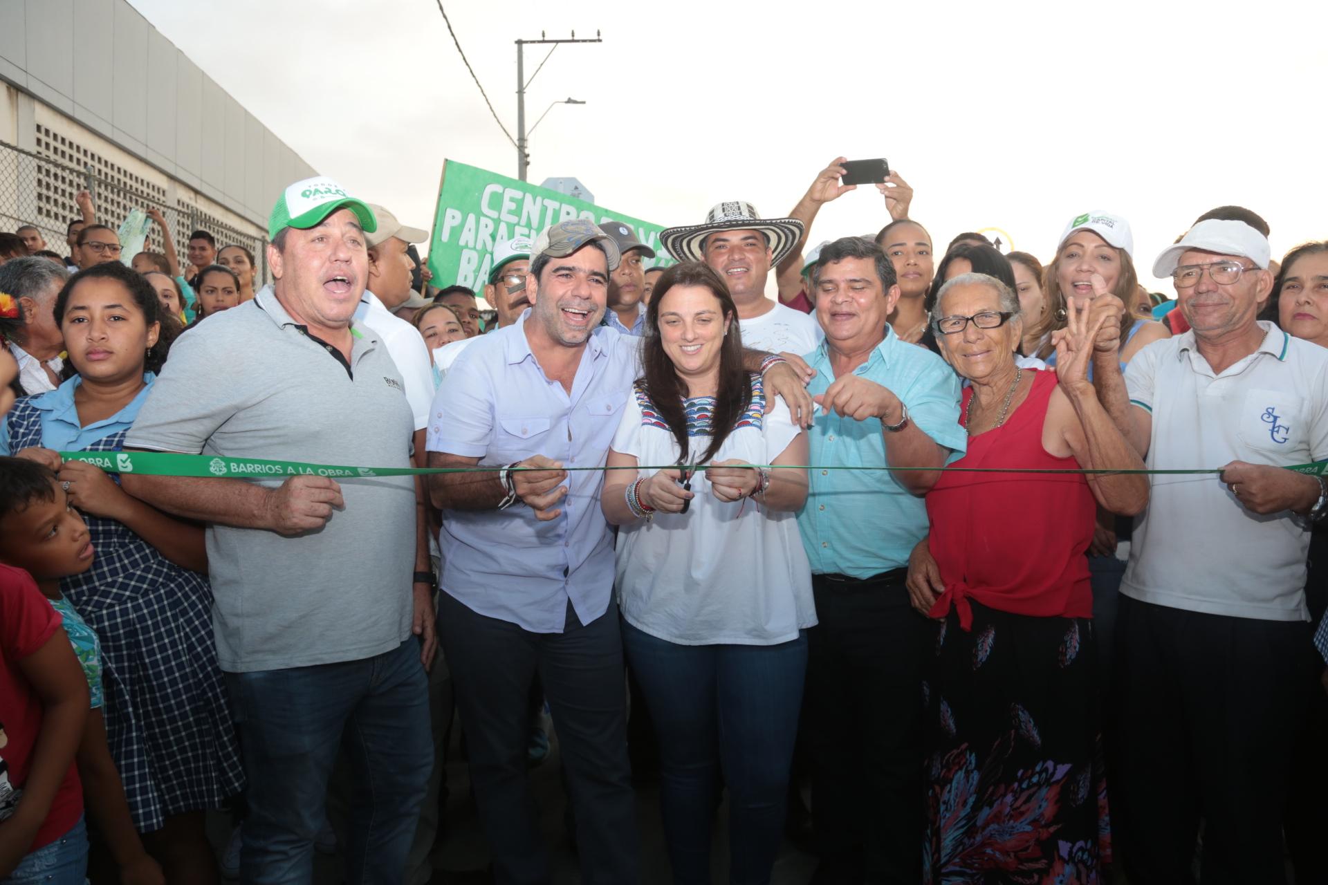 Con Barrios a la Obra, Las Granjas avanza en su transformación con vías dignas