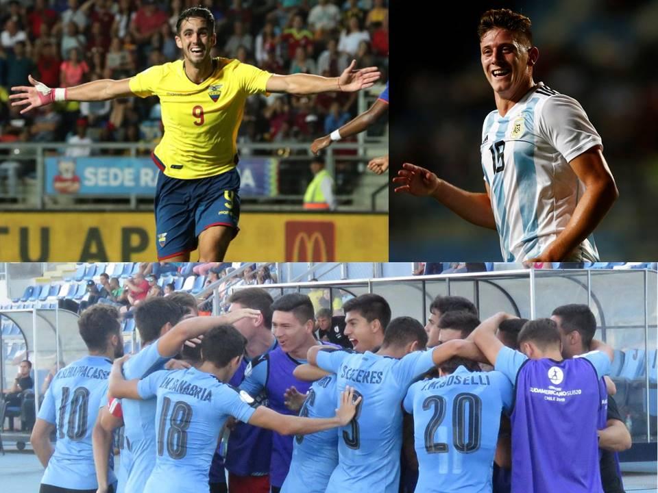 Finalizó la tercera fecha del Hexagonal Final del Sudamericano Sub-20 de Chile