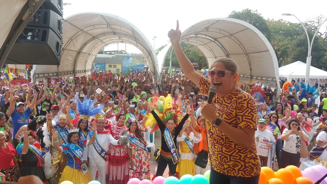 Carnaval Saludable invita a disfrutar la fiesta sin excesos