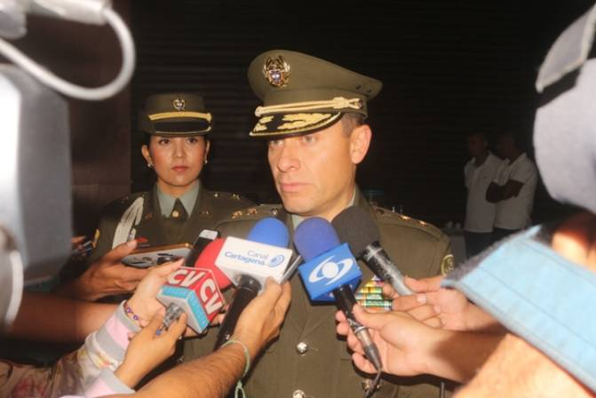Estrategias del nuevo comandante de la Policía de Cartagena