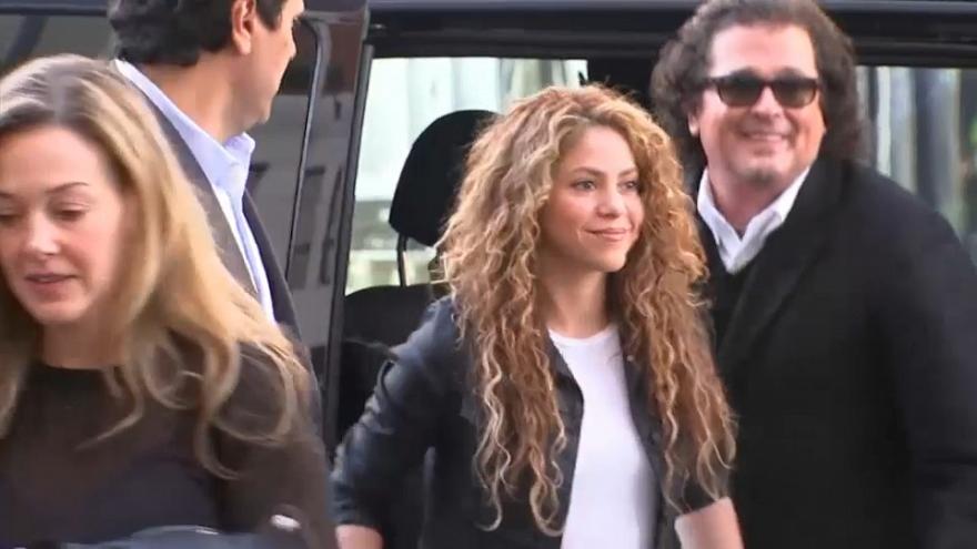 """Shakira negó en la Justicia española haber plagiado """"La bicicleta"""""""