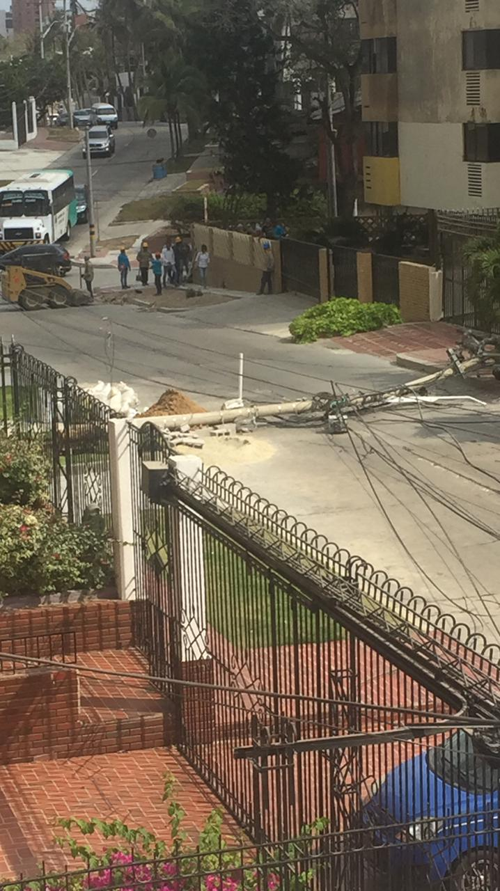 Excavaciones ajenas a Electricaribe afectaron el circuito Altamira
