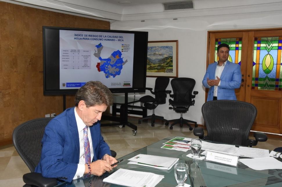 El Comité Directivo del Plan Departamental de Agua definió inversiones para la vigencia 2019