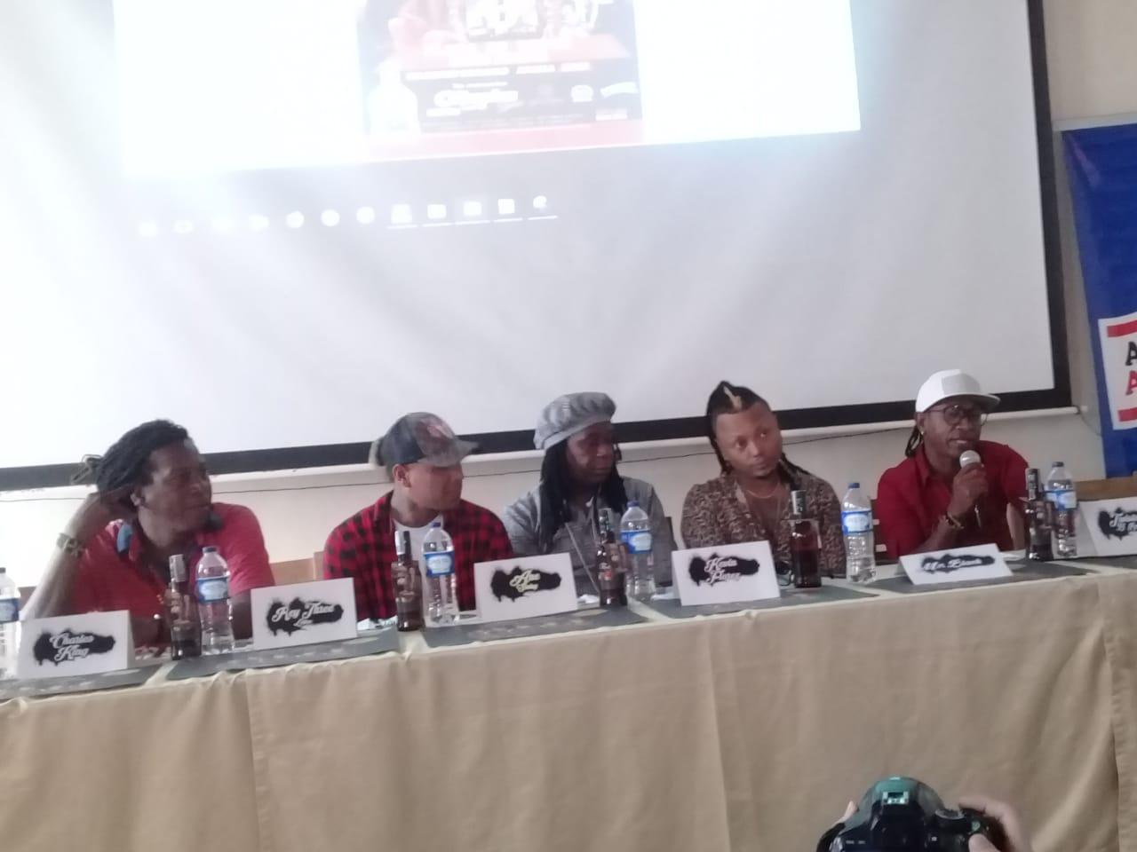 Exponentes del género de la Champeta presentes en el Champetodromo Arena Tour 2019