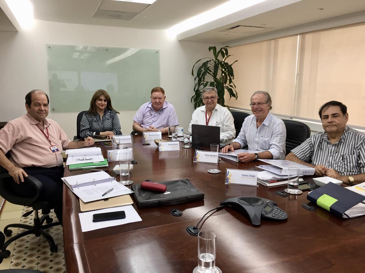 Junta Consultiva de Electricaribe analizó  proceso de contratación de obras eléctricas