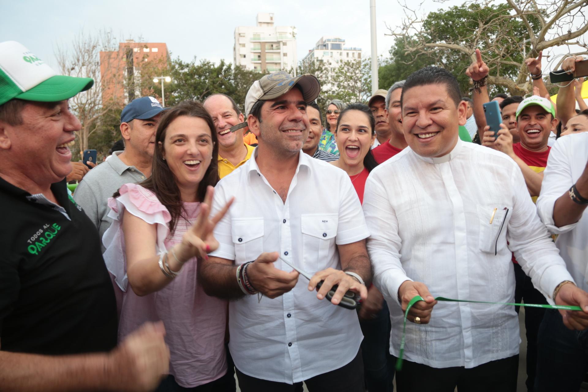 """El mejor regalo a Barranquilla en estos 206 años es el nuevo parque Venezuela"""": alcalde Char"""