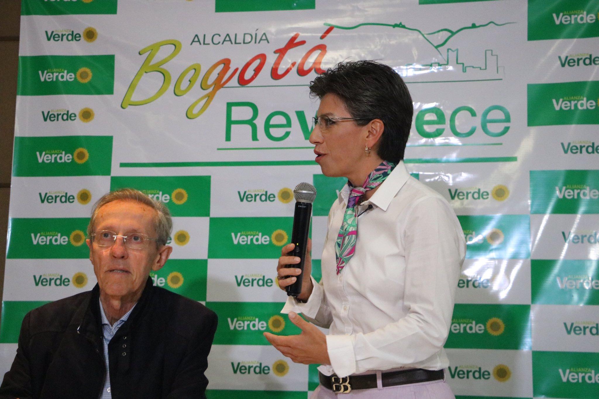 Claudia López es nombrada candidata a la Alcaldía de Bogotá por La Alianza Verde