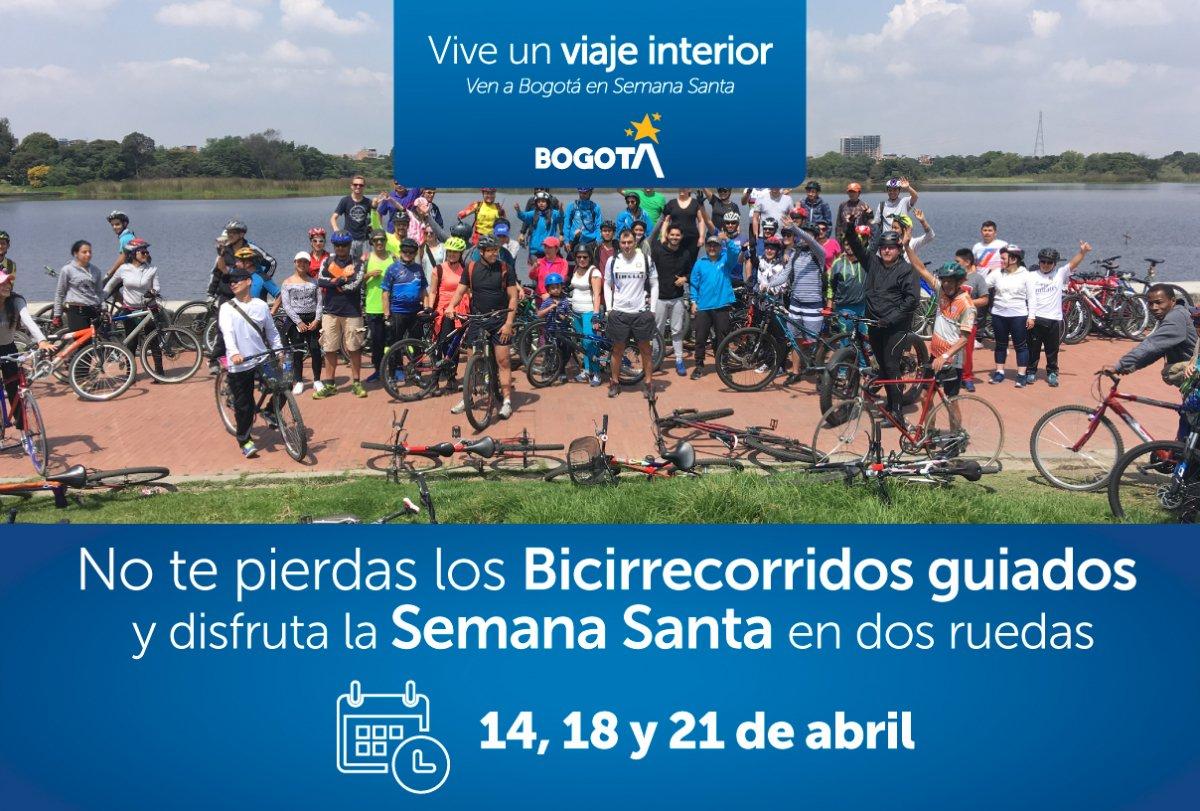 Bogotá impulsa el uso de la bicicleta en Semana Santa