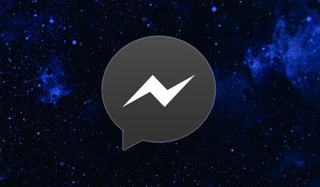 Facebook Messenger ya tiene modo oscuro para todo el mundo