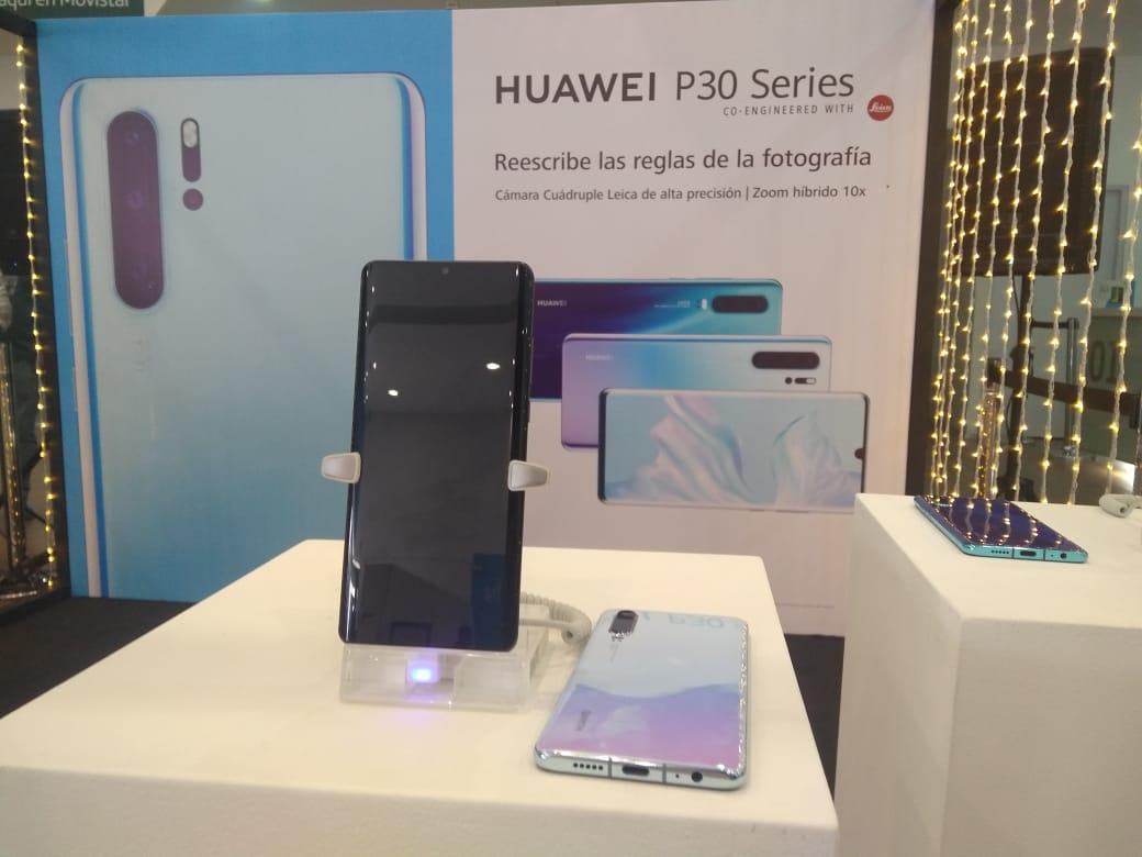 Movistar en Barranquilla presentó la serie P30 de HUAWEI