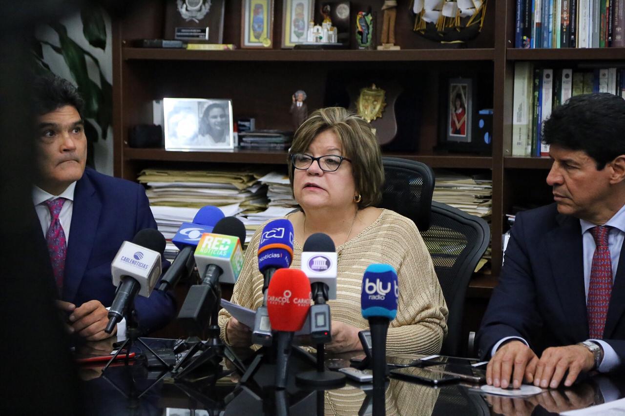 La Ministra Justicia Gloria Borrero, presentó el proyecto que garantiza la máxima protección para todos los niños
