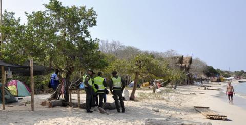 Aumento policial en zona insular de Cartagena
