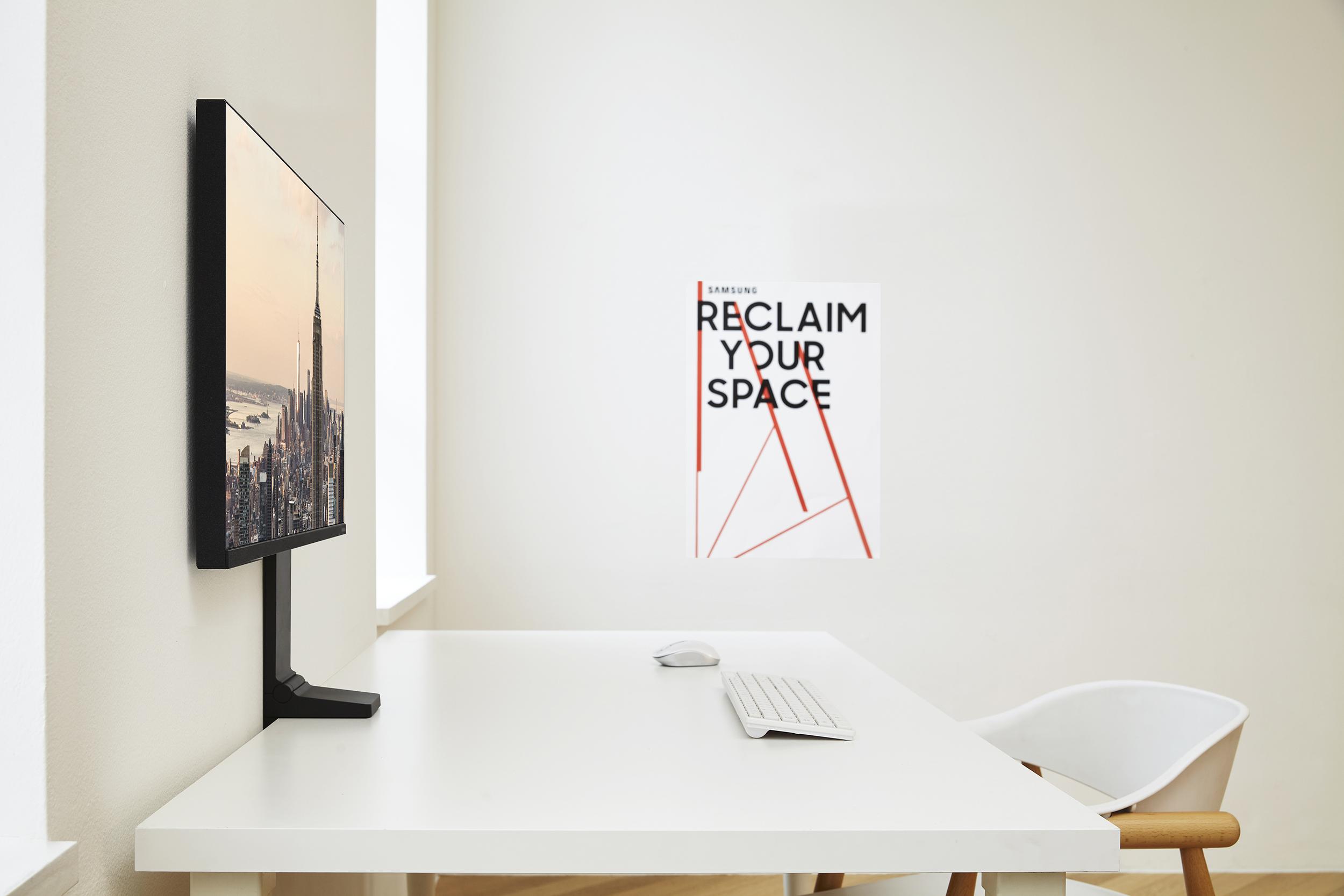 Space Monitor: diseñado para espacios de trabajo modernos  y juegos de próxima generación