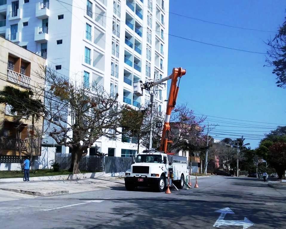 Mejoras eléctricas en el sur de Barranquilla